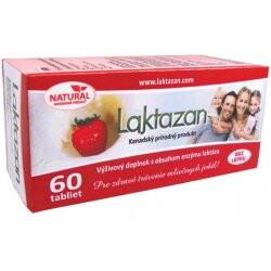 Gelda Laktazan enzým laktáza s príchuťou jahody 60 ks tbl 60ks