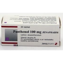 Panthenol 100 mg JENAPHARM TBL 20X100MG