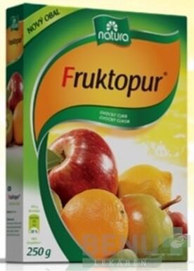 Fruktopur (ovocný cukor) 250g
