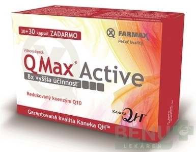FARMAX Q Max Active cps 30+30 zdarma