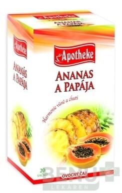 APOTHEKE PREMIER SELECTION ČAJ ANANÁS A PAPÁJA 20x2g