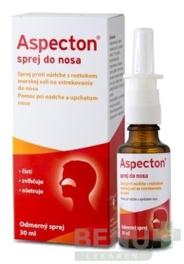 Aspecton sprej do nosa 30ml