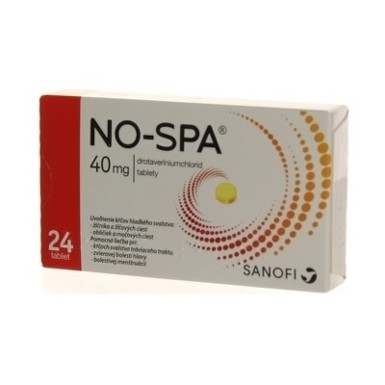 NO-SPA 40 mg tbl 24x40mg