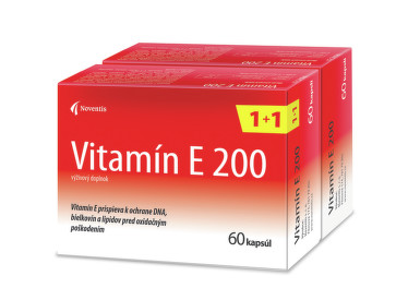Noventis Vitamín E 200 120 cps cps 60+60