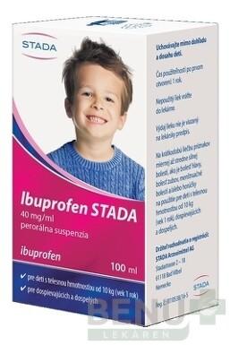 Ibuprofen STADA 40 mg/ml perorálna suspenzia 100ml