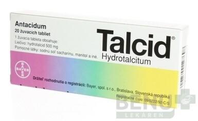 TALCID tbl mnd 20x500mg 2