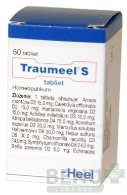 Traumeel S tablety tbl 50