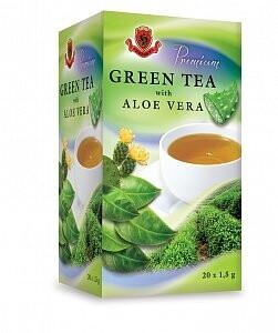 HERBEX Premium GREEN TEA S ALOE VERA 20x1,5 g 20x1,5g