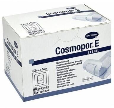 COSMOPOR E STERIL 7,2cmx5cm 50ks