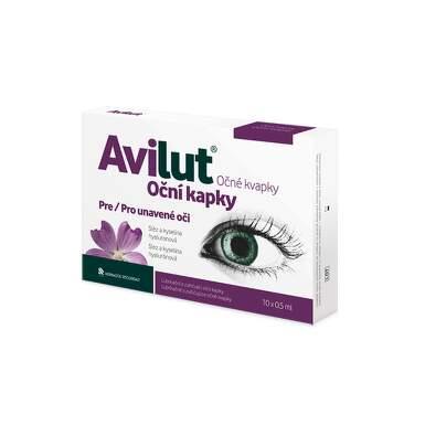 AVILUT Očné kvapky 10 x 0,5 ml