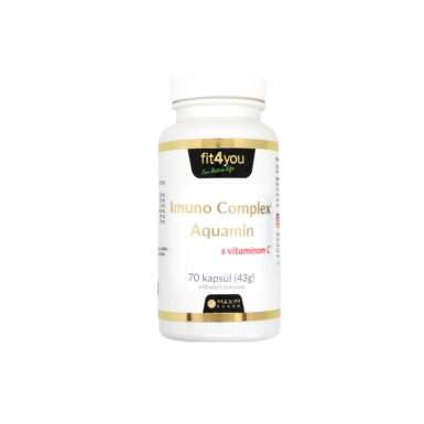 FIT 4 YOU Imuno complex aquamin s vitamínom C 70 kapsúl