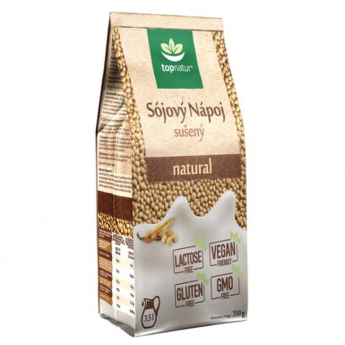 TOPNATUR Sojový nápoj natural 350 g
