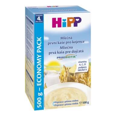 HiPP Kaša praebiotik prvá kaša pre dojčatá mliečno-obilná 500 g