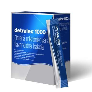 DETRALEX 1000 mg perorálna suspenzia vo vrecku 30 vreciek
