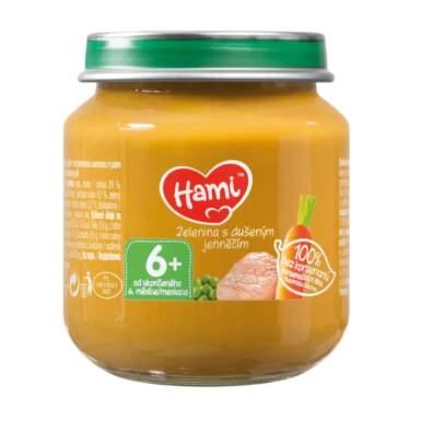 HAMI Príkrm zelenina s duseným jahňacím 125 g
