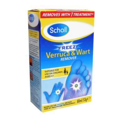 SCHOLL Freeze sprej na odstraňovanie bradavíc 80 ml