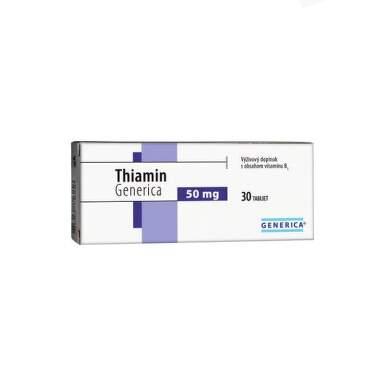 GENERICA Thiamin 50 mg 30 tabliet