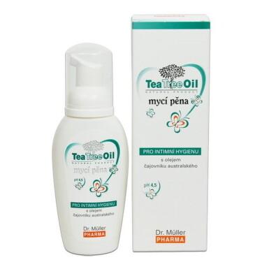 Dr. Müller Tea Tree Oil INTÍMNA UMÝVACIA PENA 100ml