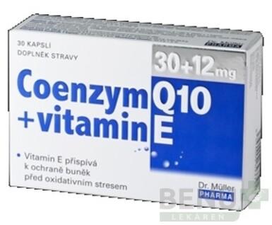 Dr. Müller COENZYM Q10 30 mg + vitamín E 12mg cps 30