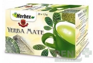 HERBEX YERBA MATÉ 20x1,5g