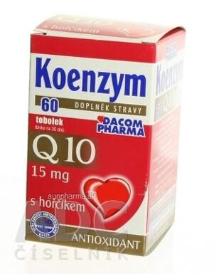 DACOM Koenzým Q10 15 mg s horčíkom cps 60