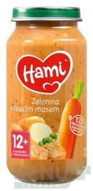 Hami príkrm Zelenina s teľacím mäsom 250g