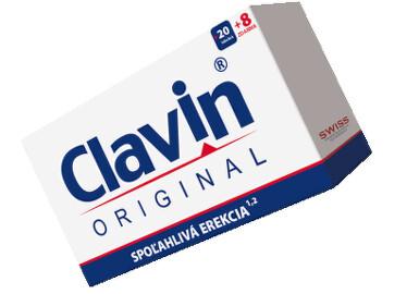 CLAVIN ORIGINAL tbl 20+8 zdarma