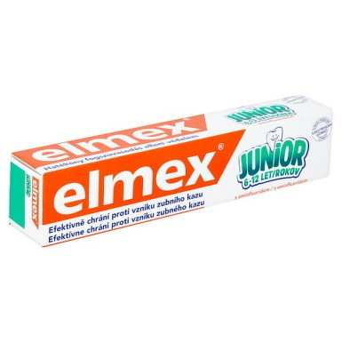 ELMEX JUNIOR ZUBNÁ PASTA 75ml