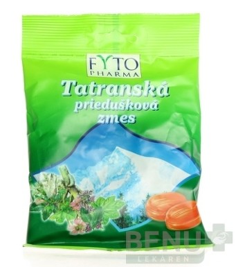 FYTO Tatranská priedušková zmes cukríky 60g