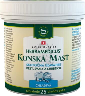Herbamedicus konská masť chladivá 250 ml 250ml