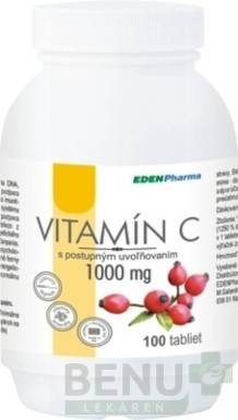 EDENPharma VITAMIN C 1000 mg tbl 100x1000mg