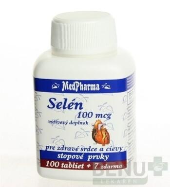 MedPharma SELÉN 100 MCG tbl 100+7 zdarma