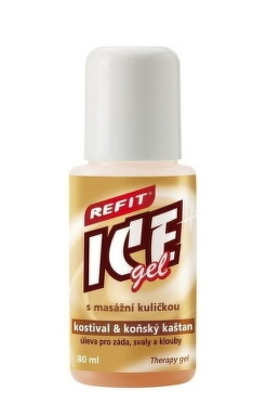 REFIT ICE GEL KOSTIHOJ A GAŠTAN ROLL ON 80ml