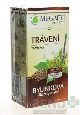 MEGAFYT Bylinková lekáreň TRÁVENIE 20x2 g