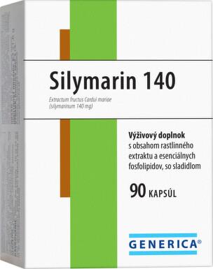 GENERICA Silymarin 140 cps 90