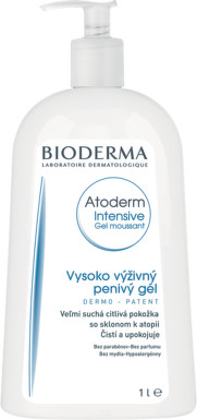 BIODERMA Atoderm Intensive Gel moussant 1000ml