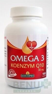 H-KONTIPRO OMEGA 3 + KOENZÝM Q10 cps 100