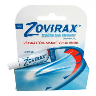 ZOVIRAX crm 2g 5%
