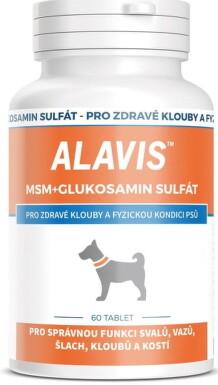 ALAVIS MSM+GLUKOZAMÍN SULFÁT tbl 1x60 ks tbl 60