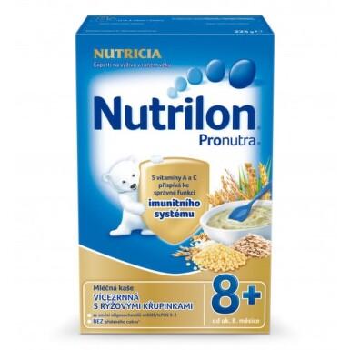 NUTRILON Pronutra mliečna kaša viaczrnná s ryžovými chrumkami 225 g