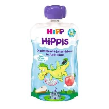 HiPP BIO Kapsička jablko, hruška, dračie ovocie a ríbezle 100 g