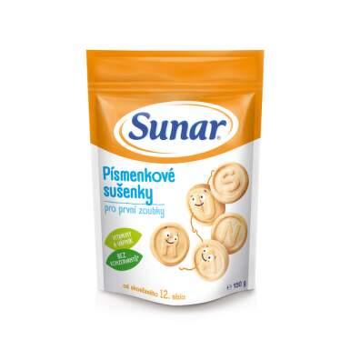 SUNAR Písmenkové sušienky 150 g