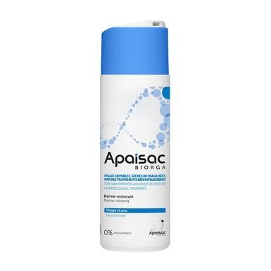 APAISAC Biorga čistiace pleťové mlieko, modrá rada 200 ml