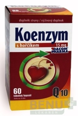 DACOM Koenzým Q10 15 mg s horčíkom cps 60 2