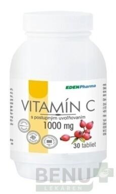 EDENPharma VITAMÍN C 1000 mg tbl 30x1000mg