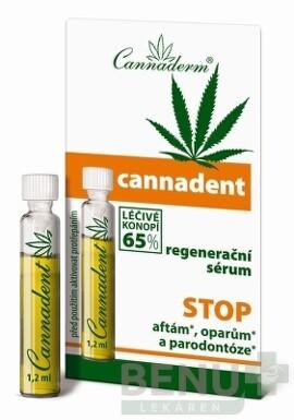 Cannaderm CANNADENT regeneračné sérum 1ml