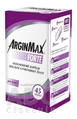 ARGINMAX FORTE pre ženy tbl 45