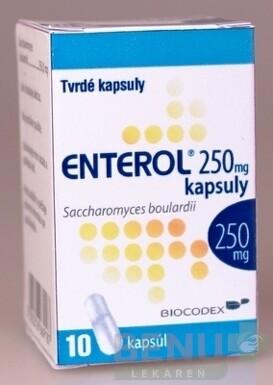 Enterol 250 mg kapsuly cps dur 10x250 mg