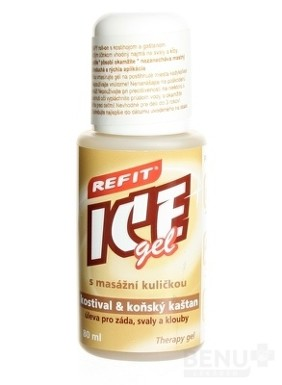 REFIT ICE GEL KOSTIHOJ A GAŠTAN ROLL ON 80ml 2