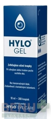 HYLO GEL gtt 10ml